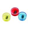 Dosenspitzer farblich sortiert, rund, einfach, verschließbar Kunststoffspitzer