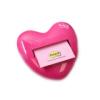 Haftnotizspender Herz 1 x Z-Notes 76x76mm 100Bl pastell/neonpink