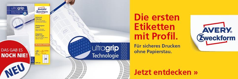Ultragrip Etiketten