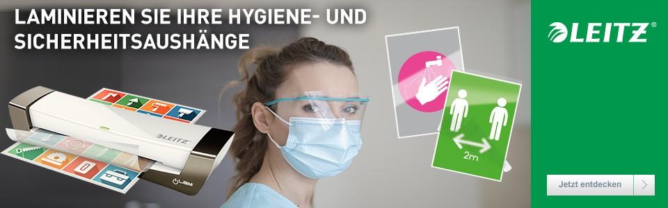 Laminieren Sie ihre Hygiene