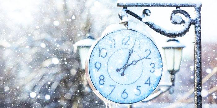 Zeitmanagement im Winter