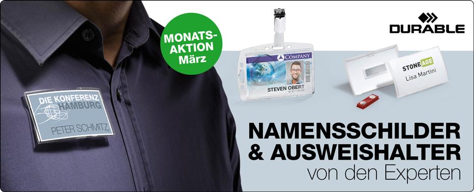 Monatsaktion Maerz - Durable